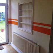 Double orange stripes added based on a customer request